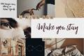 História: Make you Stay (short fic - malec)
