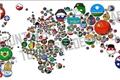 História: Países texting