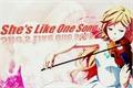 História: She's Like One Song. - Interativa