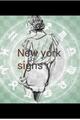 História: New York signs.
