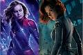 História: Capitã Marvel e Viúva Negra