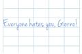 História: Everyone hates you, Giorno! - (GioAbba - AbbaGio)
