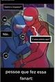 História: Vermelho x azul (among us)