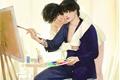 História: Meu pintor - Taekook