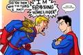 História: Superman vs Capitão Patria