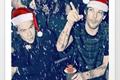 História: Apenas Louis e Harry trocando mensagens na noite de Natal