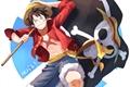 História: Luffy The gamer