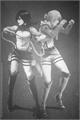 História: Mikasa x Annie x leitora - quase um Yandere