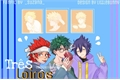 História: Três loiros ( Bakudeku - Kirikami - Miritama )