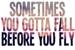 Fanfic / Fanfiction Sometimes You Gotta Fall Before You Fly...