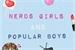 Fanfic / Fanfiction Nerd Girls and Popular Boys - Interativa