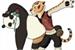 Fanfic / Fanfiction Kung fu panda: Um novo romance incerto