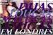 Fanfic / Fanfiction Duas loucas, malucas, amigas em Londres!?