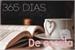 Fanfic / Fanfiction 365 dias de Escrita