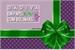 Fanfic / Fanfiction Dádiva em papel roxo com bolinhas verdes
