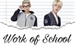 Fanfic / Fanfiction Work of School ( One Shot )