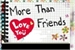 Fanfic / Fanfiction 💕 More Than Friends 💞