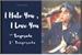 Fanfic / Fanfiction I Hate You, I Love You ( + 18 Park Jimin )