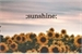 Fanfic / Fanfiction Sunshine