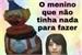 Fanfic / Fanfiction O Menino Jorge- crack!fic