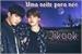 Fanfic / Fanfiction Uma noite para nós - Jikook One Shot