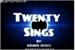 Fanfic / Fanfiction TWENTY SINGS - Interativa