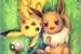 Fanfic / Fanfiction Eevee e Pikachu- Aventura Pokémon