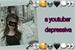 Fanfic / Fanfiction (Imagine BTS) A youtuber depressiva