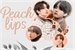 Fanfic / Fanfiction Peach Lips (Taekook - abo)