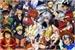Fanfic / Fanfiction Personagens de anime reagindo a raps