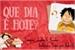 Fanfic / Fanfiction Que dia é hoje? - Luffy X Reader